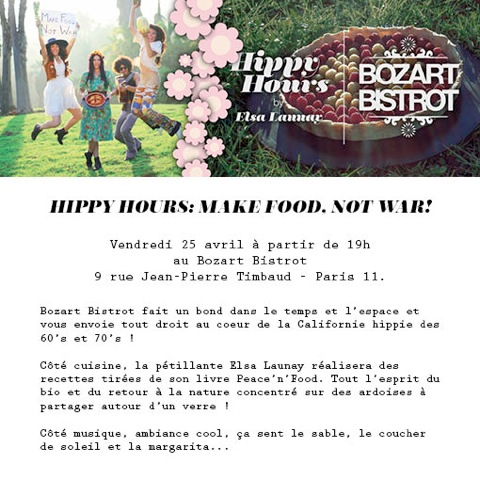 Hippy Hours avec Elsa Launay