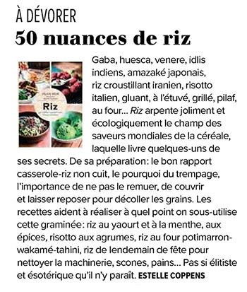 Riz in Tribune de Lyon